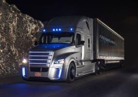 Camión con conducción autónoma