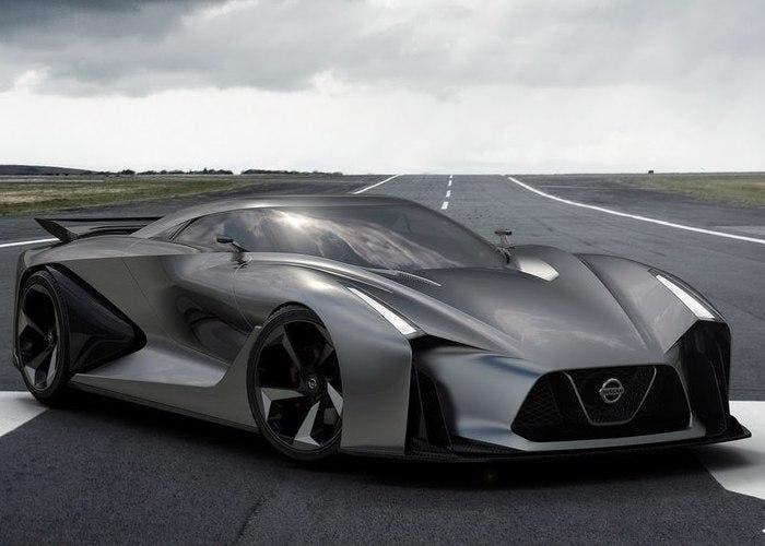 Diseño del futuro Nissan GT-R