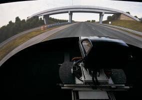 Simulador de conducción de UK Automotive