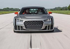 Frontal del Audi TT Clubsport Turbo