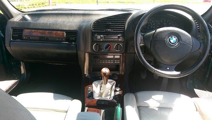 Interior del BMW M3 E46 de Top Gear