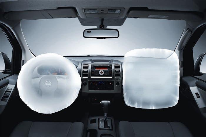 Airbags desplegados