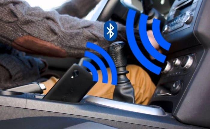 Dispositivo bluetooth en coche