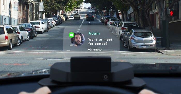 Dispositivo Navdy para el coche