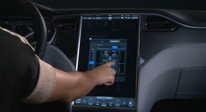 Pantalla del Tesla Model S