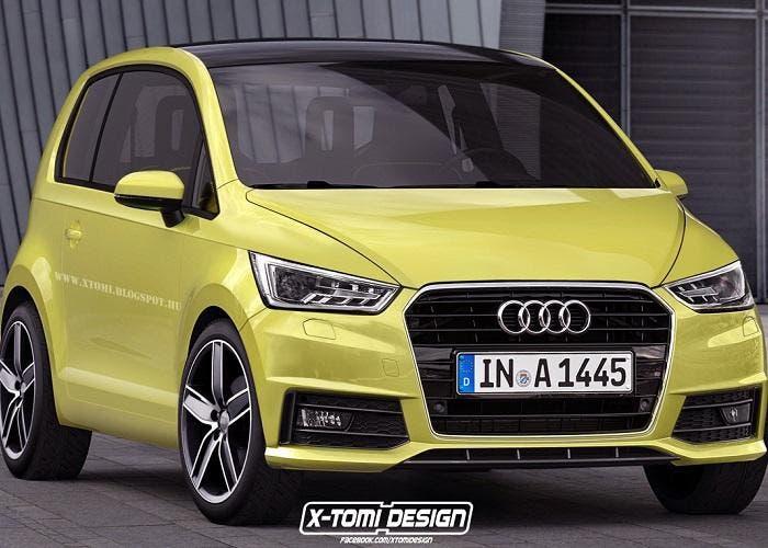Audi A2 basado en el VW Up!