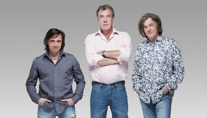 Richard Hammond, Jeremy Clarkson y James May