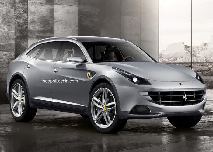 Ferrari FF crossover y con cuatro puertas