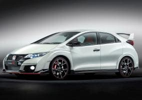 Honda Civic Type R blanco