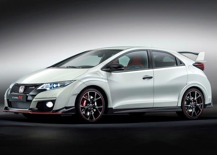 Honda Civic Type R blanco