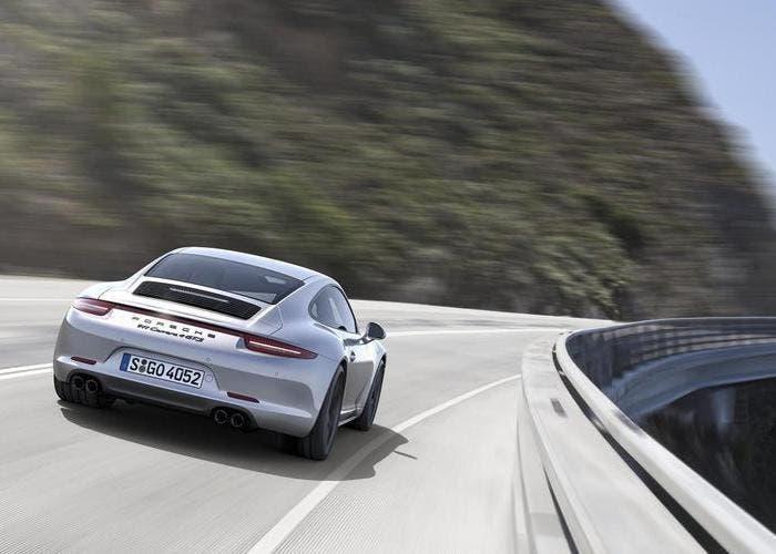 Trasera del Porsche 911