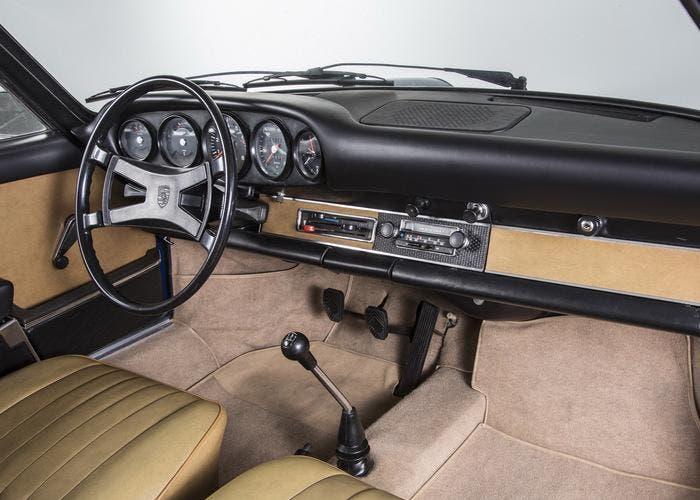 Interior de un Porsche 911