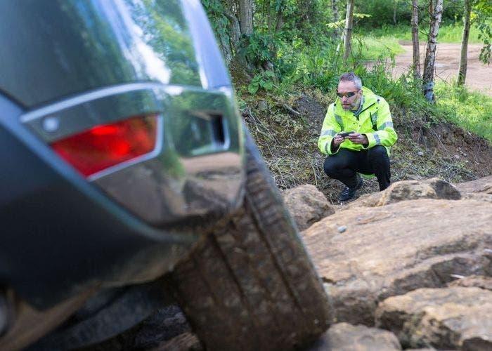 Control remoto de Land Rover
