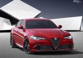 Frontal del Alfa Romeo Giulia