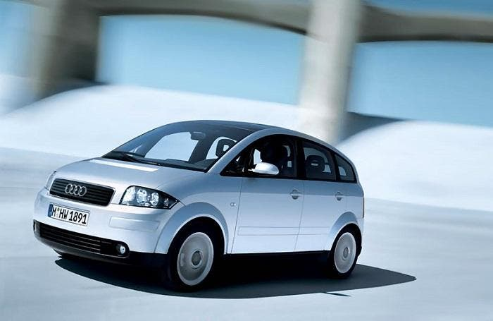 Audi A2 gris metalizado