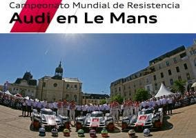 Equipo de Audi para Le Mans