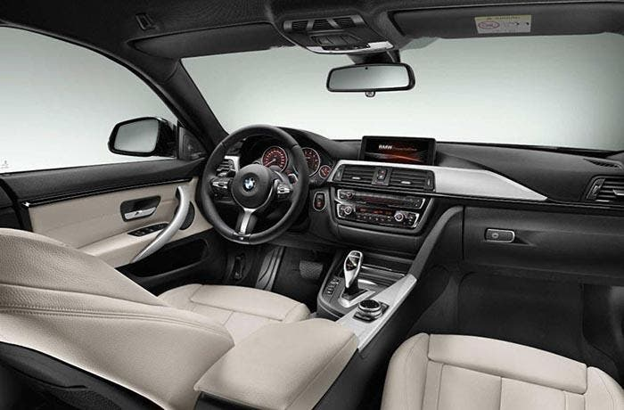 Interior del BMW Serie 4 Gran Coupé