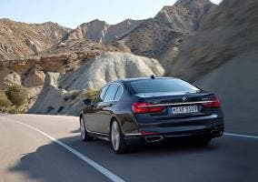 Trasera del nuevo BMW Serie 7