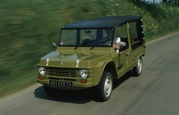 Citroën Méhari de color verde