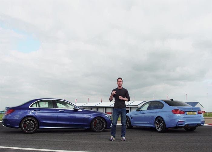 Batalla entre el Mercedes C63 AMG vs BMW M3