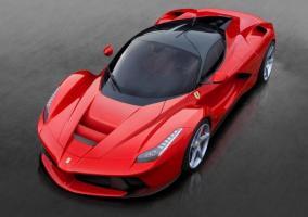 Ferrari LaFerrari rojo