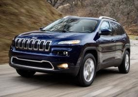 Jeep Cherokee implicado