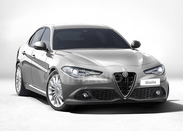Modelo básico del Alfa Romeo Giulia