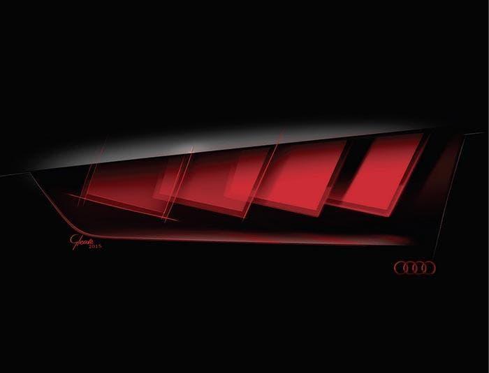 Tecnología OLED para faros de Audi