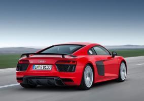 Trasera del Audi R8