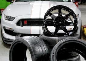 Llantas del Shelby Mustang GT350R
