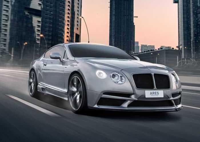 Bentley Continental GT Ares