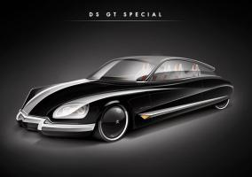 Citroën DS Render