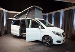 Mercedes furgoneta portátil