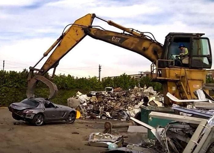 Mercedes SLS superdeportivo