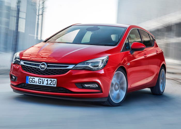Opel Astra compacto