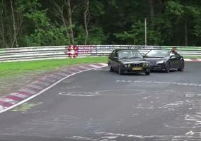 BMW E30 y Audi TT en Nürburgring