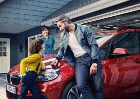 Familia y el BMW Serie 2 Active Tourer