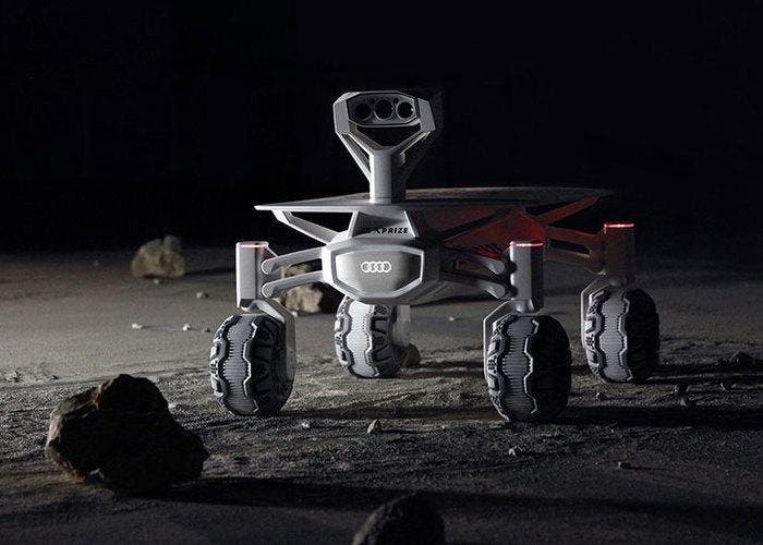 Audi proyecto lunar