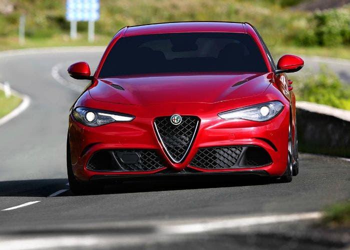 Frontal del Alfa Romeo Giulia QV
