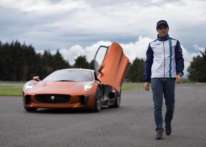 Felipe Massa y Jaguar