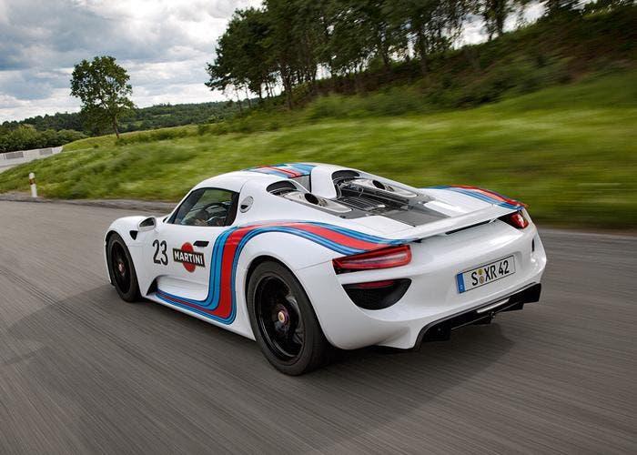 Porsche 918 Spyder martini edition