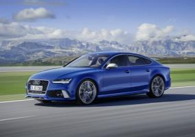 Audi RS7 Sportback Performance azul