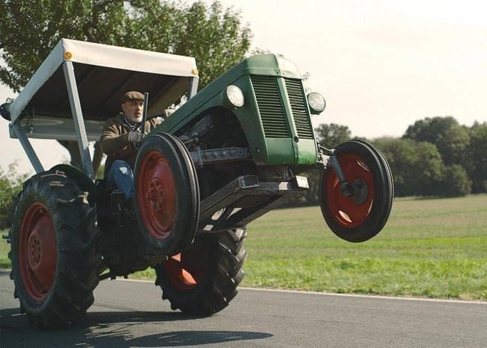 tractor potente