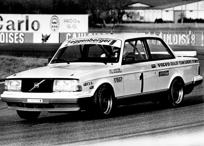 Volvo 240 Turbo en competición