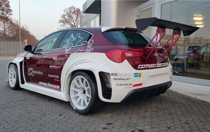 Alfa Romeo Giulietta back