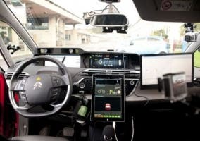 Viaje Vigo-Madrid de coche autónomo