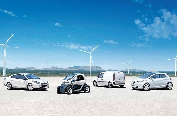 Gama electrica de Renault
