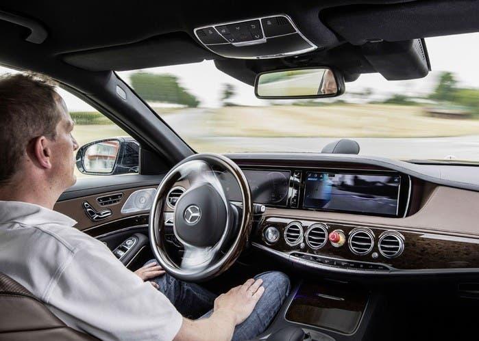 Mercedes conducción autónoma