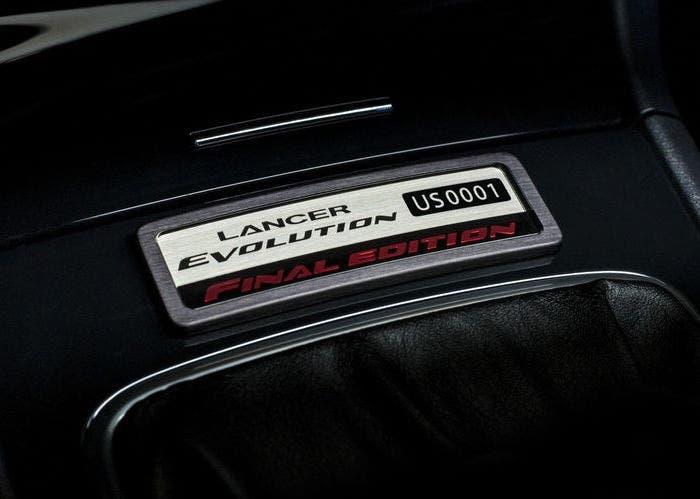 Mitsubishi Lancer Evolution bADGE