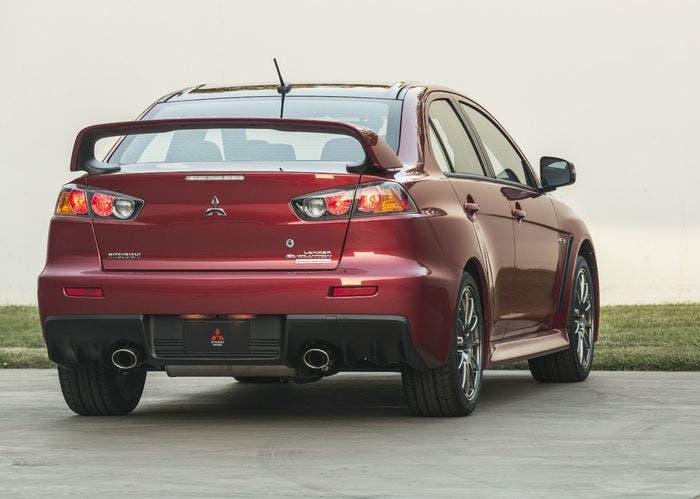 Mitsubishi Lancer Evolution back